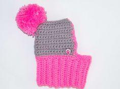 Rosa perro sombrero acogedor sombreros del ganchillo perro
