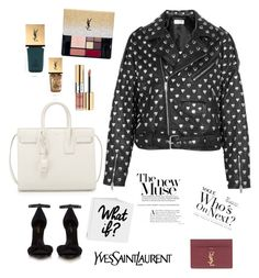 """YSL WHO? L"" by stylesmanda on Polyvore featuring Yves Saint Laurent"
