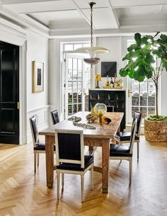 Dining Room by Nate Berkus and Jeremiah Brent in New York, NY