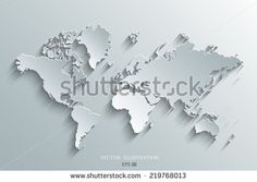 73 world map pinterest stock image of a vector world map gumiabroncs Images