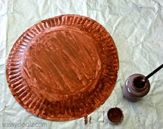 paper plate groundhog day art project