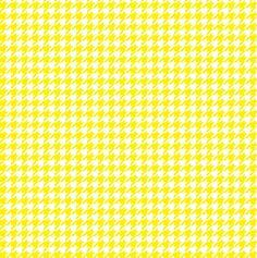 Yellow houndstooth HEAT TRANSFER vinyl sheet by BreezePrintCompany