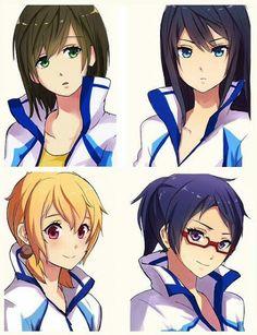 Iwatobi Swim Team genderbent Woah that's... Wow