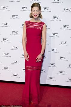 Rosamund Pike, Gone Girl Actress, Star Fashion, Fashion Outfits, Best Gowns, Hollywood Fashion, Fashion Advice, Designer Dresses, Nice Dresses