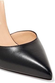 Christian Louboutin - Uptown 100 Leather Pumps - Black - IT40.5