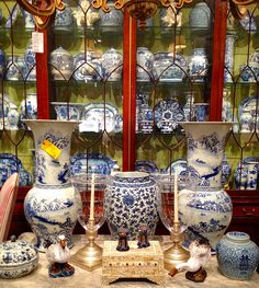 Blue and white heaven at John Rosselli