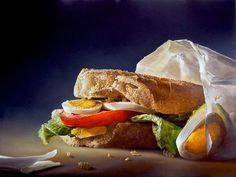 hyper realisme nourriture 11 hollandais Tjalf Sparnaay.