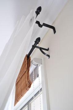 The Painted Hive | Bamboo Faux Window Valance -- Sometimes you need a black-out shade.