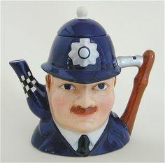 Policeman Teapot