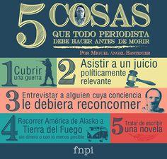 Lo que un periodista debe hacer, según Miguel Ángel Bastenier.