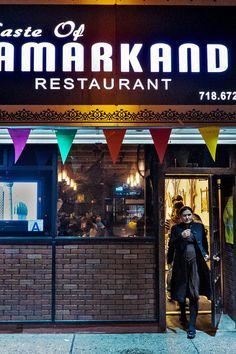 Rasul Hoshimov, an Uzbek Muslim from Samarkand, runs the restaurant with David Abramov, a Bukharan Jew from Dushanbe in neighboring Tajikistan. (Photo: An Rong Xu for The New York Times)