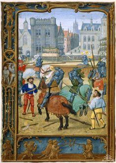 Simon Bening - June - The Golf Book of Hours - c.1540