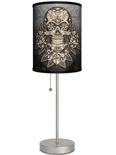 Save on Silver Lamp With Gold Skull Shade By Lamp in A Box at InkedShop.com, and get coupon codes and deals every day!