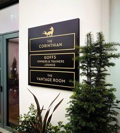 Punchestown Racecourse | Projects | CSS Signs Lettering, Signs, Projects, Log Projects, Blue Prints, Shop Signs, Drawing Letters, Sign, Brush Lettering
