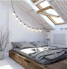 Small spaces/loft rooms