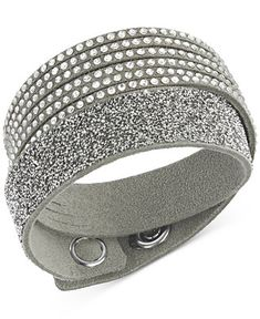 Swarovski Slake Crystal Wrap Bracelet - All Fashion Jewelry - Jewelry & Watches - Macy's