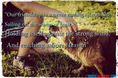 Friendship Quotes For Best Friends... For more Check out www.quoteacademy.com