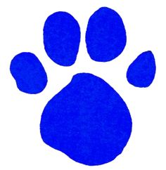 Blue's Light Blue Pawprint | Blue's Clues and Mickey's ...