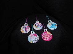 My Little Pony...Zipper Pull.  Would be by GrandmasBowsonETSY, $7.00