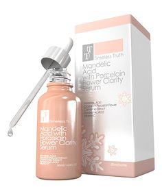 This Timeless Truth Cosmetics Mandelic Acid & Porcelain Flower Clarity Serum by Timeless Truth Cosmetics is perfect! Mandelic Acid, Beauty Hacks, Beauty Stuff, Face And Body, Health And Beauty, Clarity, Serum, Porcelain, Ear