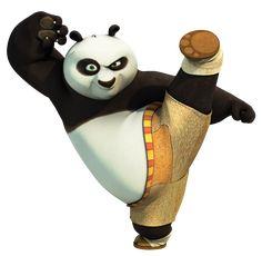 Transparent Kung Fu Panda PNG Clip Art Image