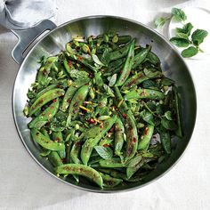 from cooking light cooking with peas sauteed sugar snap peas with ...