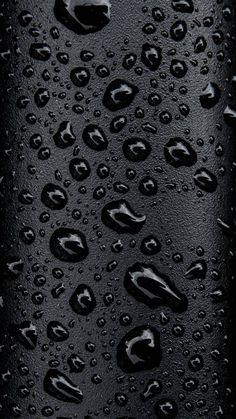 Black Water Droplets