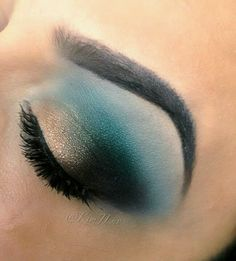 Teal Eye Candy #Makeup