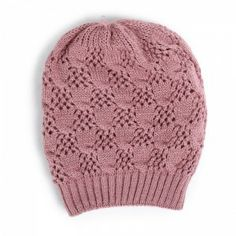 Rib End Old Pink Fullah Sugah Knitted Hat #knitted #bannie Winter Is Coming, Knitted Hats, Knitting, Pink, Fashion, Knit Hats, Tricot, Fashion Styles, Knit Caps
