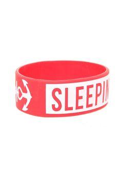 Best Bracelet 2017/ 2018 : Sleeping With Sirens Anchor Logo Rubber Bracelet | Hot Topic