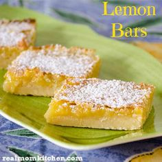 Lemon Bars | http://