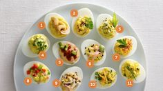 11 Spins on Deviled Eggs