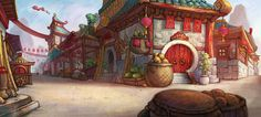 Food Market / World of Warcraft: Mists of Pandaria Art & Pictures