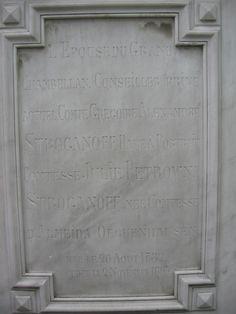 Juliana'stombstone, detail.