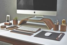 WALNUT KEYBOARD TRAY Grovemade $59