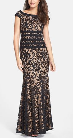 Lovely lace mermaid gown