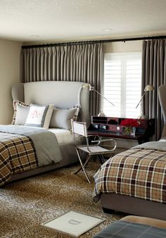The ultimate masculine guest room -Tobu Fairley