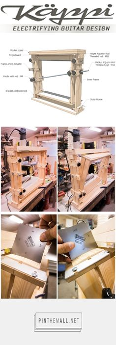 DIY – Plan for a Fingerboard radius jig | Käppi Guitars... - a grouped images picture - Pin Them All