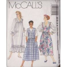 Misses Dress And Jumper McCall's Sewing Pattern 6041 (Size: 22-24)