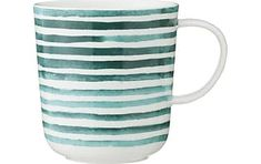 HEMA Chicago Mug 28cl (White/green) All The Colors, Chicago, Colours, Mugs, Tableware, Green, Dinnerware, Tumbler, Dishes