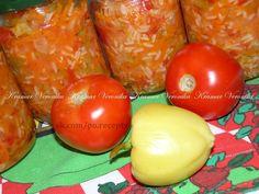 Салат с рисом на зиму, еще заготовки из кабачков, баклажан и огурцов