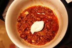 Beer & Bacon Chili with Dogfish Head 90 Minute Imperial IPA - Love Every Byte
