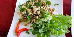 Chicken Larb y otras delicias de la #gastronomía de #Laos