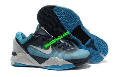 Nike Zoom Kobe 7 Womens Shark Predator Pack Version Blue White Black