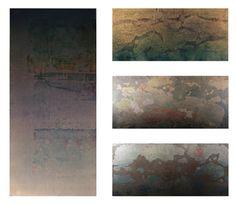 WATER CHRISTIAN BERRINI Smalti e acrilici su tela, 140x140, 2014 Seta giapponese, abissi, sentimenti, memorie intessute e intrecciate che riaffiorano.
