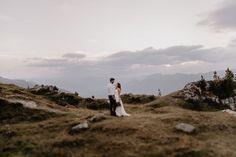 Berg Hochzeit Tirol Afterweddingshooting Winter Mountain Wedding, Mountain Love, Chic Wedding, Rustic Wedding, Park City Utah, Berg, Nature, Travel, Weddings