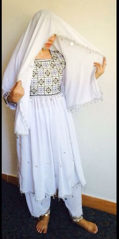 Afghan Herati Styling Dress  لباس افغاني (هراتي )