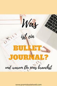 Als ich das erste Mal Bullet Journal hörte, fragte ich mich: Was ist das denn?. Ein Bullet Journal ist etwas Großartiges und das möchte ich Dir zeigen! | #bulletjournal #planen #organisieren #lifehack