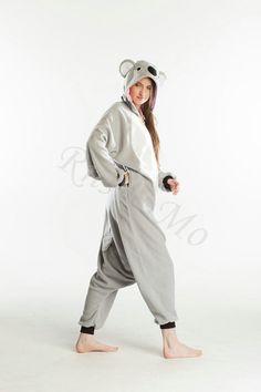 KIGURUMI Animal Pajamas Pyjamas Costume Onesie Adult / by RnMoMo, $49.99