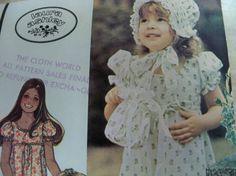 No. 4548 McCall's Size 8 Girls' Dress by CarolinaJayUnusuals, $7.00